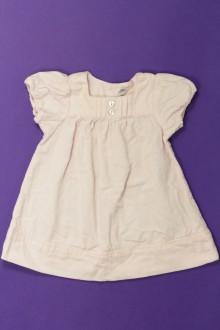 Habits pour bébé occasion Robe en velours fin Bout'Chou 1 mois Bout'Chou