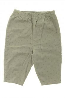 Habits pour bébé occasion Pantalon en velours fin Cyrillus 9 mois Cyrillus