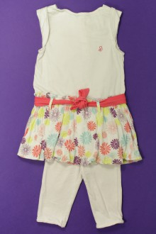 vetement bébé d occasion Ensemble robe et legging Obaïbi 18 mois Obaïbi