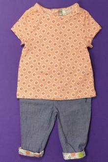 habits bébé Ensemble pantalon et tee-shirt Orchestra 3 mois Orchestra