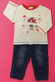 vetements d occasion bébé Ensemble tregging et tee-shirt 3 Pommes 3 mois 3 Pommes