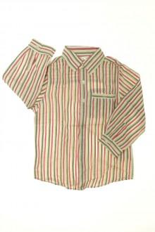 vetements enfants d occasion Chemise rayée Vertbaudet 4 ans Vertbaudet
