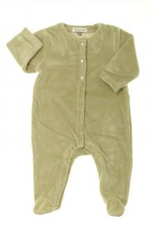 vetements d occasion bébé Pyjama/Dors-bien en velours DPAM 3 mois DPAM