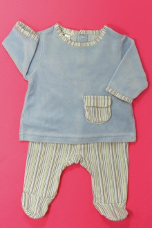 vêtements bébés Pyjama en velours Vertbaudet 1 mois Vertbaudet