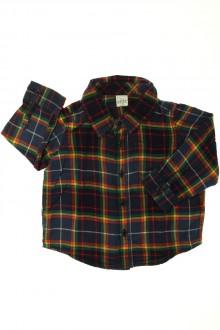 Habit de bébé d'occasion Chemise à carreaux Gap 18 mois Gap