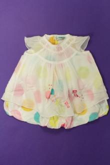 vêtements bébés Robe à pois Catimini 6 mois Catimini