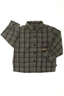Habits pour bébé occasion Chemise à carreaux Obaïbi 18 mois Obaïbi