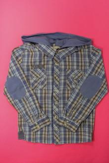 vêtements occasion enfants Chemise à carreaux à capuche Orchestra 10 ans Orchestra