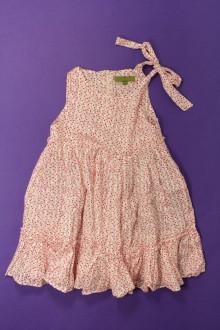 vêtements occasion enfants Robe à petits carrés TroiZenfants 2 ans TroiZenfants