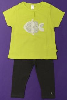 Habits pour bébé Ensemble tee-shirt et legging Obaïbi 18 mois Obaïbi
