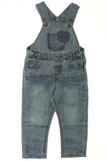 vêtements enfants occasion Salopette en jean Tape à l'Œil 2 ans Tape à l'œil