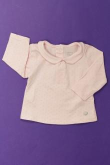 vêtements bébés Tee-shirt manches longues à pois Obaïbi 3 mois Obaïbi