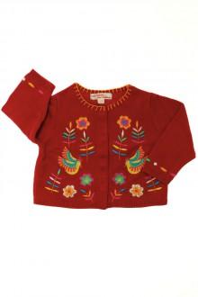 vêtements bébés Gilet brodé DPAM 3 mois DPAM