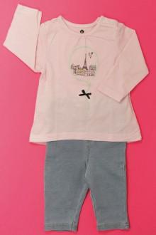 Habits pour bébé Ensemble tregging et tee-shirt Grain de Blé 3 mois Grain de Blé