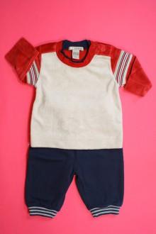 vêtements bébés Jogging bimatière H&M 3 mois H&M