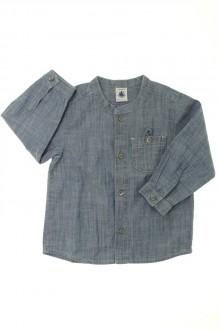 habits bébé Chemise en jean Petit Bateau 18 mois Petit Bateau