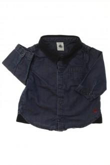 Habits pour bébé occasion Chemise en jean Petit Bateau 3 mois Petit Bateau