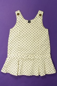 vêtements occasion enfants Robe en velours fin à pois Gap 3 ans Gap