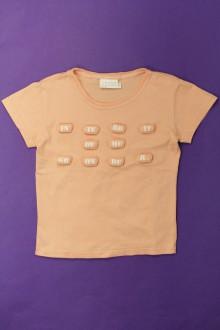 vetement occasion enfants Tee-shirt manches courtes Interdit de me gronder 6 ans Interdit de me Gronder