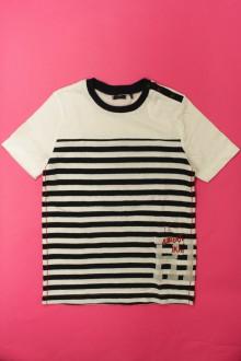 vetements enfant occasion Tee-shirt manches courtes rayé IKKS 10 ans IKKS