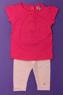 Habits pour bébé occasion Ensemble tee-shirt et legging Orchestra 3 mois Orchestra