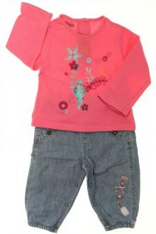 habits bébé Ensemble jean et tee-shirt La Compagnie des Petits 9 mois La Compagnie des Petits