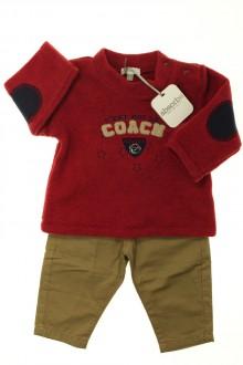 vetement bébé d occasion Ensemble pantalon et pull - NEUF Absorba 6 mois Absorba