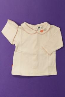 habits bébé Tee-shirt manches longues Obaïbi 1 mois Obaïbi