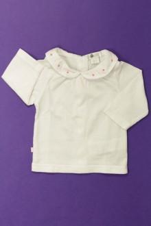 vêtements bébés Tee-shirt manches longues Obaïbi 1 mois Obaïbi