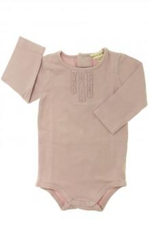 vêtements bébés Body manches longues Grain de Blé 3 mois Grain de Blé