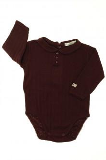 vêtements bébés Body manches longues à col Bout'Chou 3 mois Bout'Chou