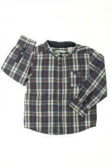 vetement occasion enfants Chemise à carreaux Obaïbi 2 ans Obaïbi
