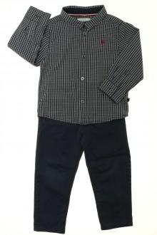 vêtements occasion enfants Ensemble chino et chemise Obaïbi 2 ans Obaïbi