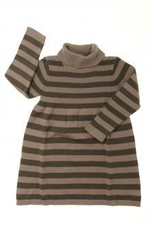 vêtements d occasion enfants Robe rayée en maille Vertbaudet 2 ans Vertbaudet