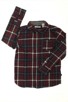 vetement occasion enfants Chemise à carreaux Okaïdi 6 ans Okaïdi