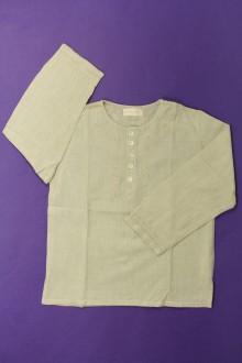 vêtements occasion enfants Blouse à fines rayures Blanc d'Ivoire 6 ans Blanc d'Ivoire