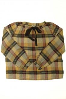 vêtements enfants occasion Blouse à carreaux Bonpoint 10 ans Bonpoint