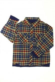 vetement occasion enfants Chemise et tee-shirt superposés Catimini 6 ans Catimini