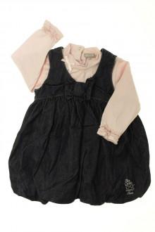 vêtements bébés Ensemble robe en jean et tee-shirt Grain de Blé 18 mois Grain de Blé