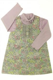 habits bébé Ensemble robe et sous-pull Grain de Blé 18 mois Grain de Blé