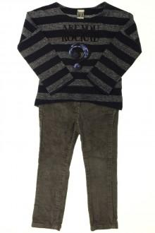 vetement enfant occasion Ensemble pantalon et tee-shirt Tape à l'Œil 2 ans Tape à l'œil
