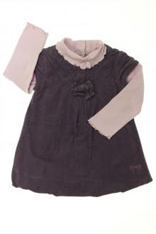 vetements d occasion bébé Ensemble robe et sous-pull Grain de Blé 18 mois Grain de Blé
