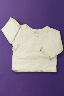 vêtements bébés Cache-cœur Obaïbi 3 mois Obaïbi