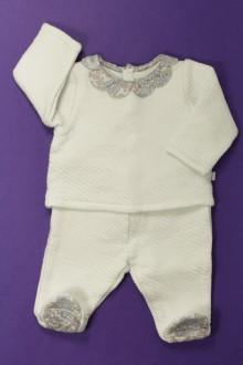 vetement bébé d occasion Ensemble brassière et pantalon Jacadi 3 mois Jacadi