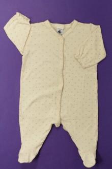 vêtements bébés Pyjama/Dors-bien en coton à pois Petit Bateau 3 mois Petit Bateau