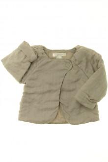 vêtements bébés Gilet molletonné Obaïbi 3 mois Obaïbi
