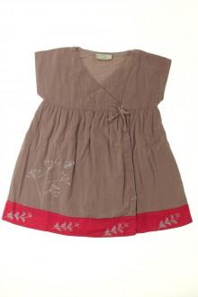 vêtements bébés Robe en velours fin DPAM 18 mois DPAM
