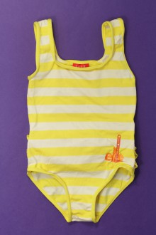 Habits pour bébé occasion Maillot de bain rayé Elle 18 mois Elle