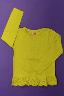 vetement d occasion enfant Tee-shirt broderie anglaise DPAM 4 ans DPAM