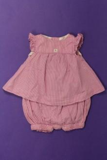 vetements d occasion bébé Ensemble blouse et shorty Jacadi 3 mois Jacadi